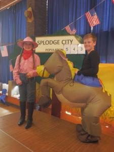 billie joe and horse